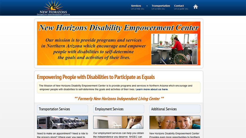New Horizons Disability Empowerment Center