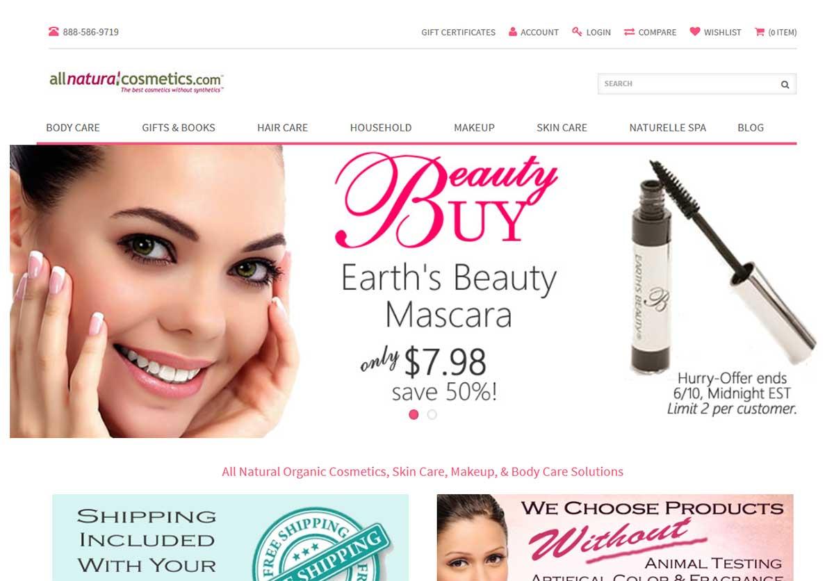 All Natural Cosmetics