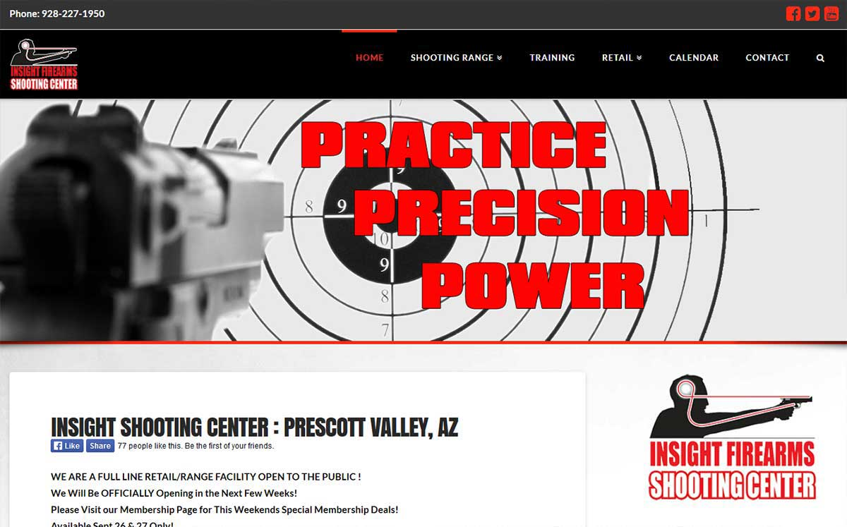Insight Shooting Center, Prescott Valley