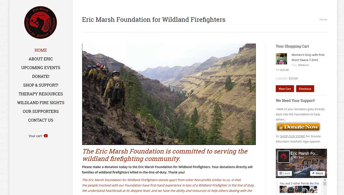 Eric Marsh Founation for Wildland Firefighters
