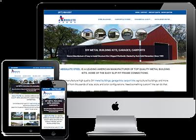 Large Site Website Management