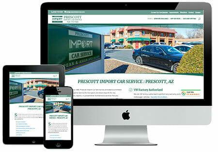 Project : Prescott Import Car Service