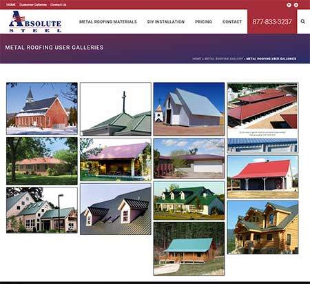 Metal Roofing Picture Gallery
